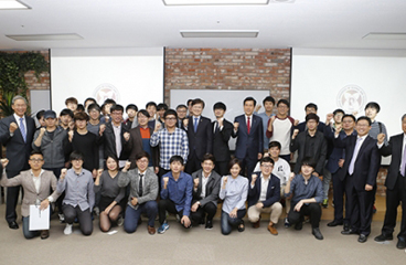 Minister of Science, ICT, and Future Planning Visits POSTECH and APGC-Lab