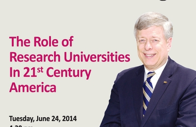 Special Lecture by Chancellor Mark Nordenberg University of Pittsburgh