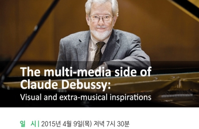 The multi-media side of Claude Debussy: Visual and extra-musical inspirations