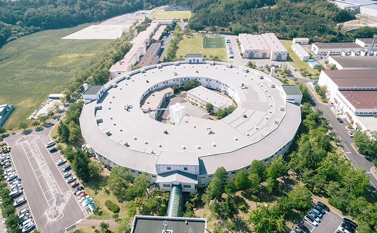 가속기연구소 항공 사진 이미지